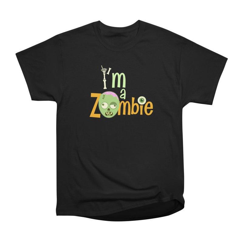 I'm a Zombie! Men's Heavyweight T-Shirt by PickaCS's Artist Shop