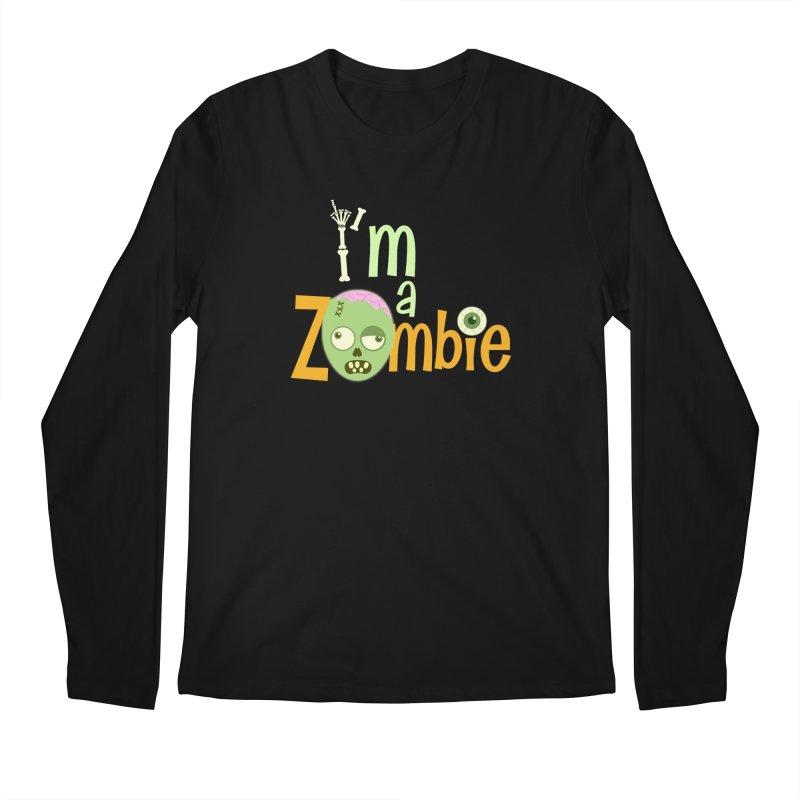 I'm a Zombie! Men's Regular Longsleeve T-Shirt by PickaCS's Artist Shop