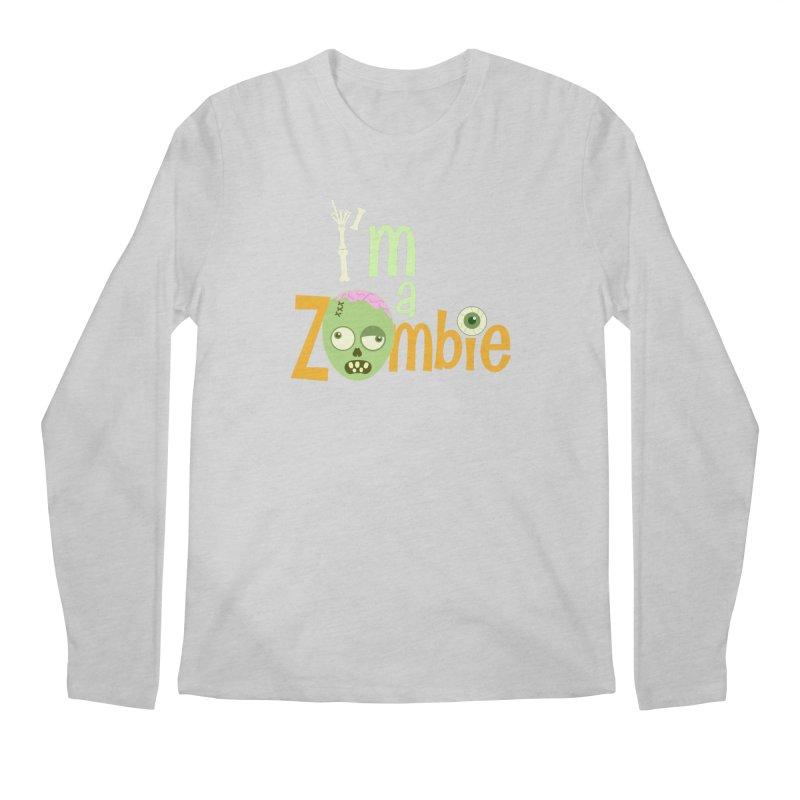 I'm a Zombie! Men's Longsleeve T-Shirt by PickaCS's Artist Shop