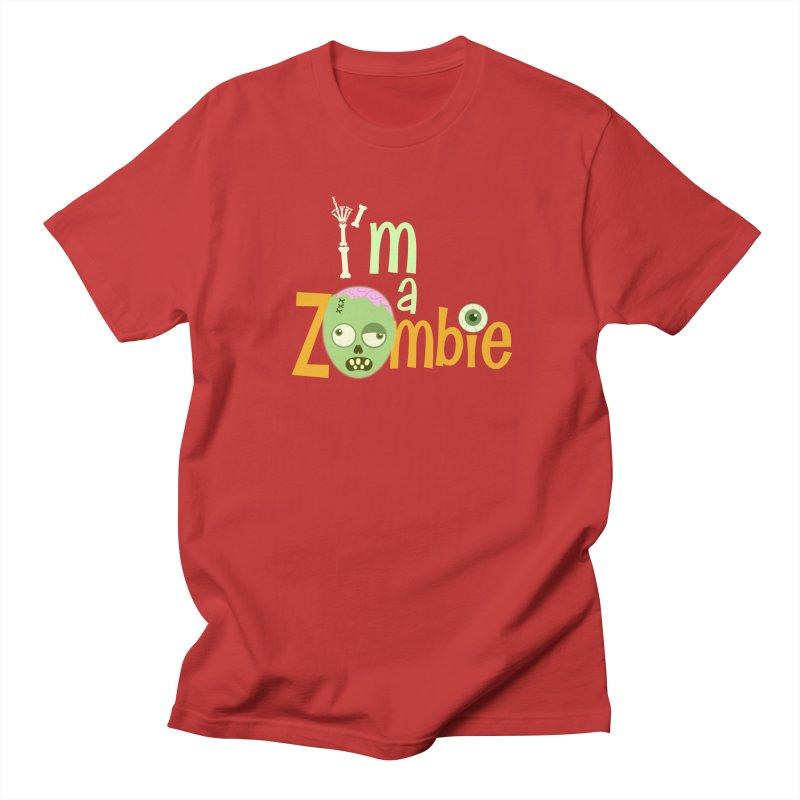 I'm a Zombie! Men's Regular T-Shirt by PickaCS's Artist Shop