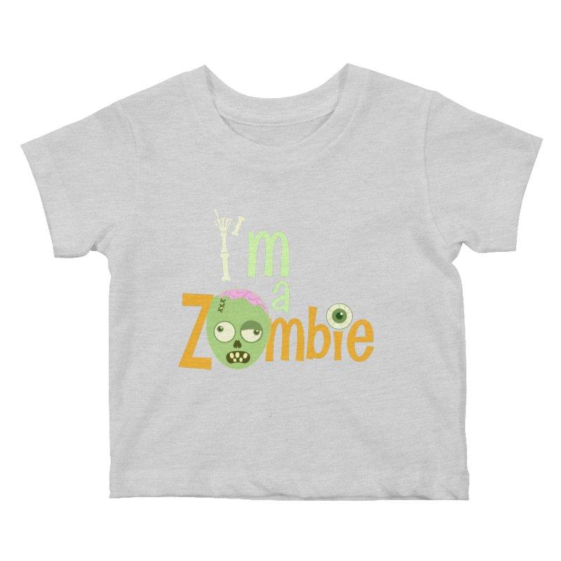I'm a Zombie! Kids Baby T-Shirt by PickaCS's Artist Shop