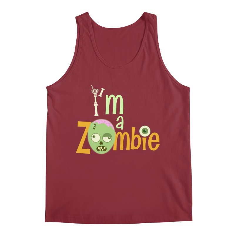 I'm a Zombie! Men's Regular Tank by PickaCS's Artist Shop