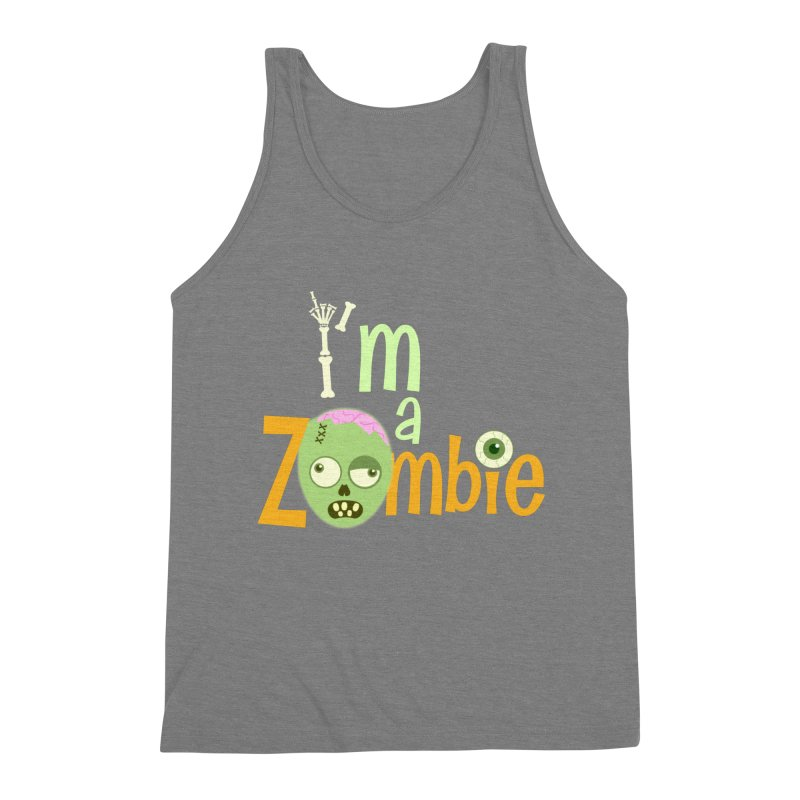 I'm a Zombie! Men's Triblend Tank by PickaCS's Artist Shop