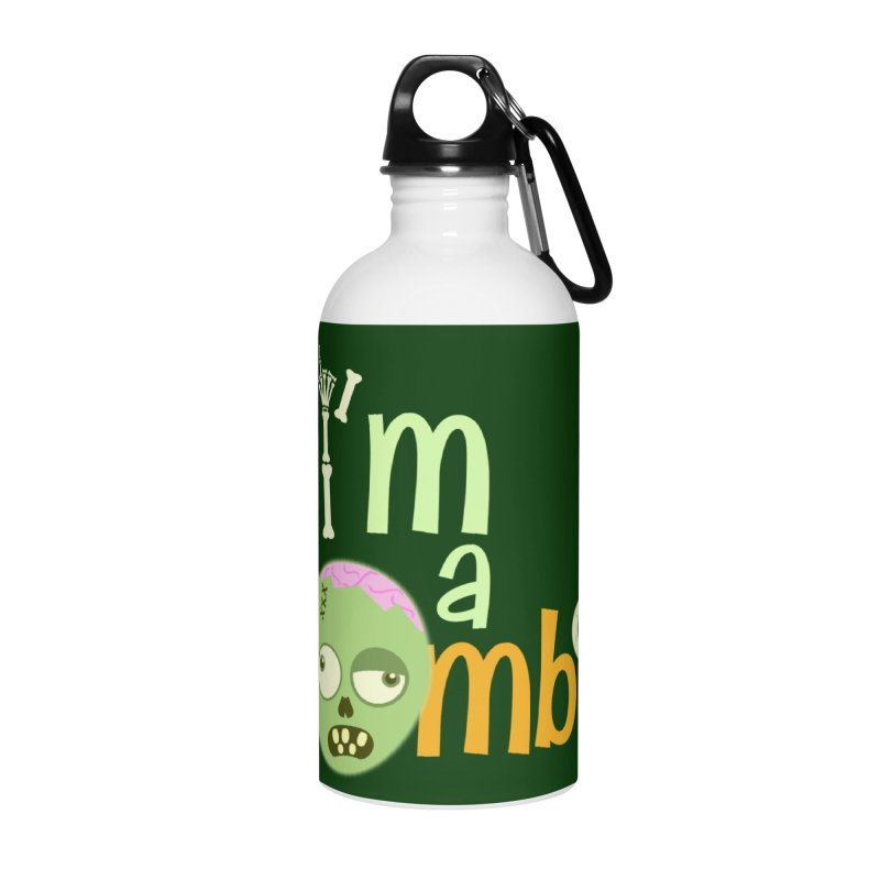 I'm a Zombie! Accessories Water Bottle by PickaCS's Artist Shop