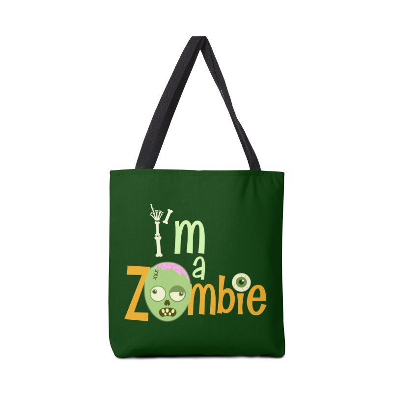 I'm a Zombie! Accessories Tote Bag Bag by PickaCS's Artist Shop