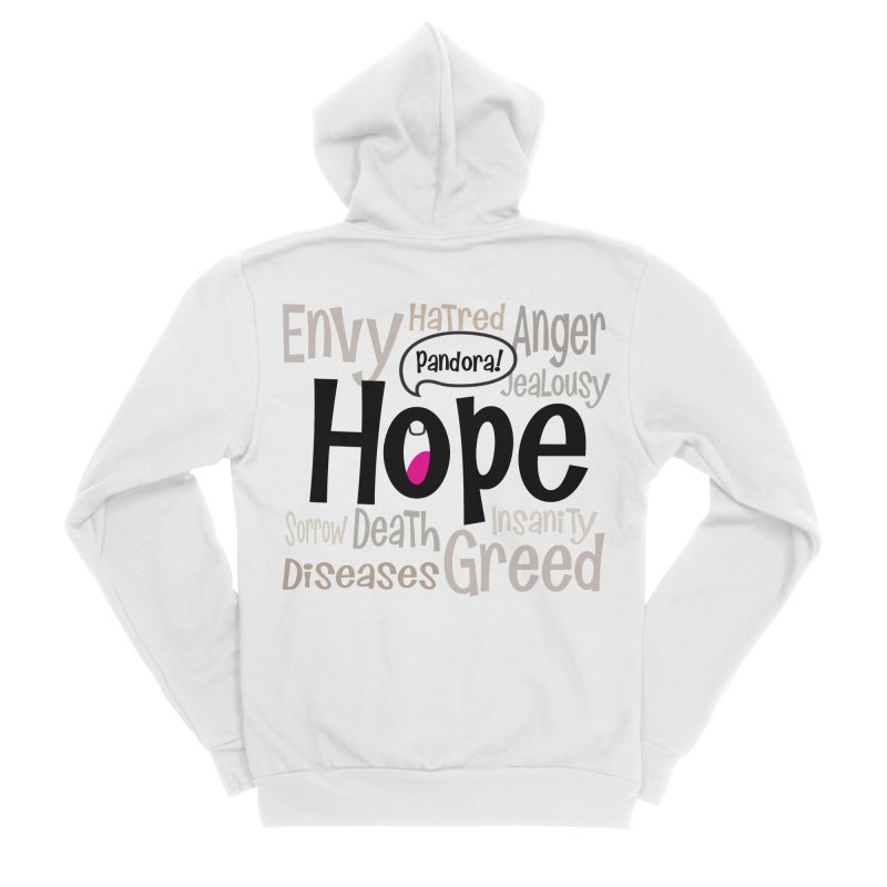 Hope... Women's Sponge Fleece Zip-Up Hoody by PickaCS's Artist Shop
