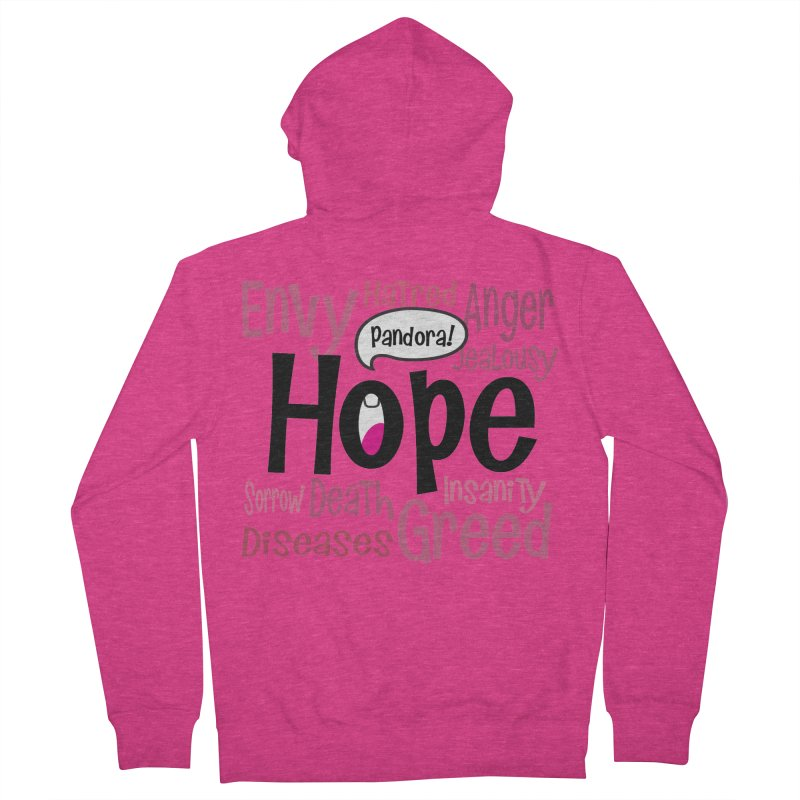 Hope... Women's French Terry Zip-Up Hoody by PickaCS's Artist Shop