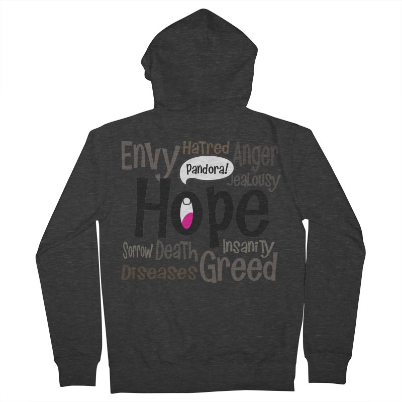 Hope... Men's French Terry Zip-Up Hoody by PickaCS's Artist Shop