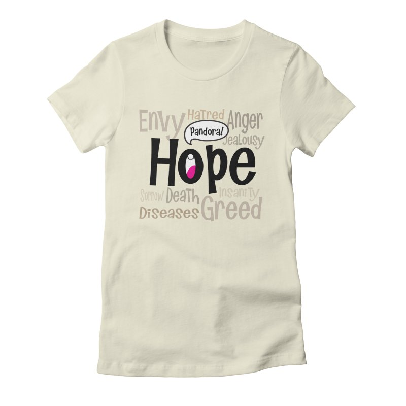 Hope... Women's Fitted T-Shirt by PickaCS's Artist Shop