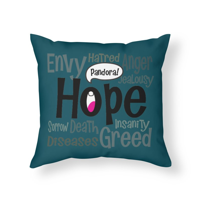 Hope... Home Throw Pillow by PickaCS's Artist Shop