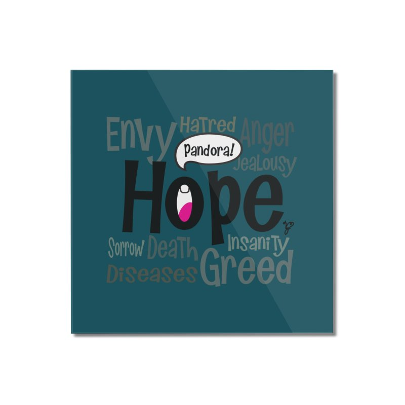 Hope... Home Mounted Acrylic Print by PickaCS's Artist Shop
