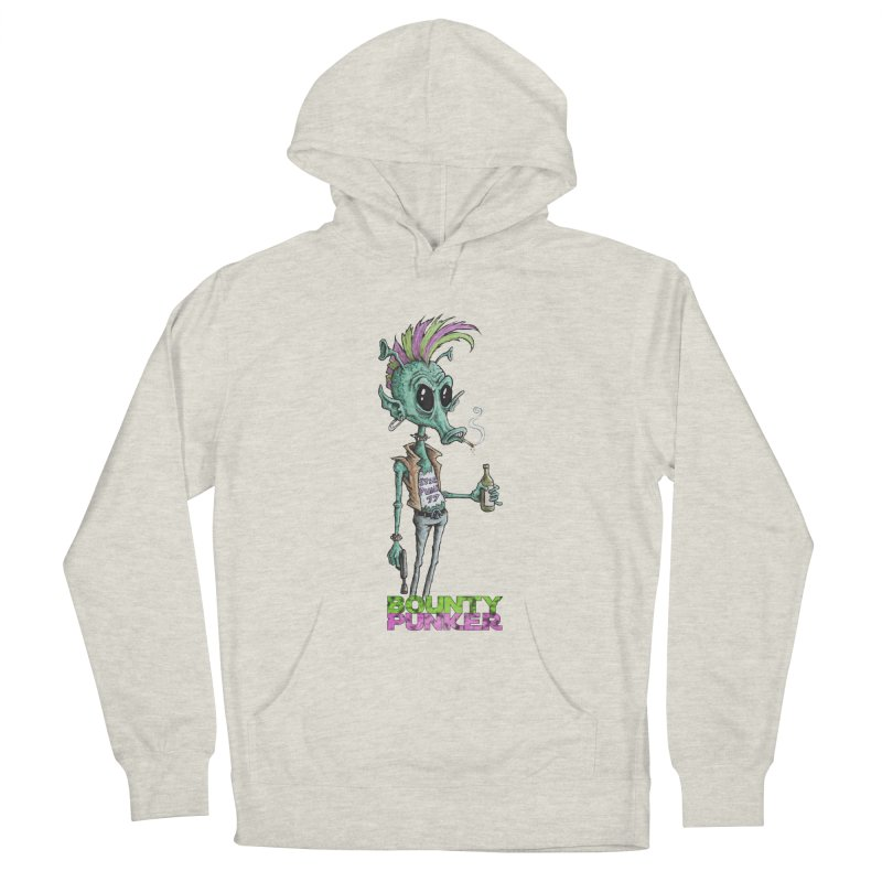 Bounty Punker Women's French Terry Pullover Hoody by Pickled Circus