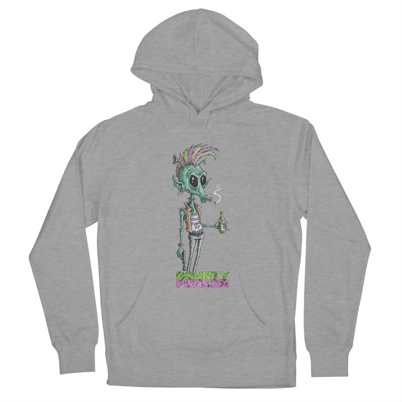 Bounty Punker Men's French Terry Pullover Hoody by Pickled Circus