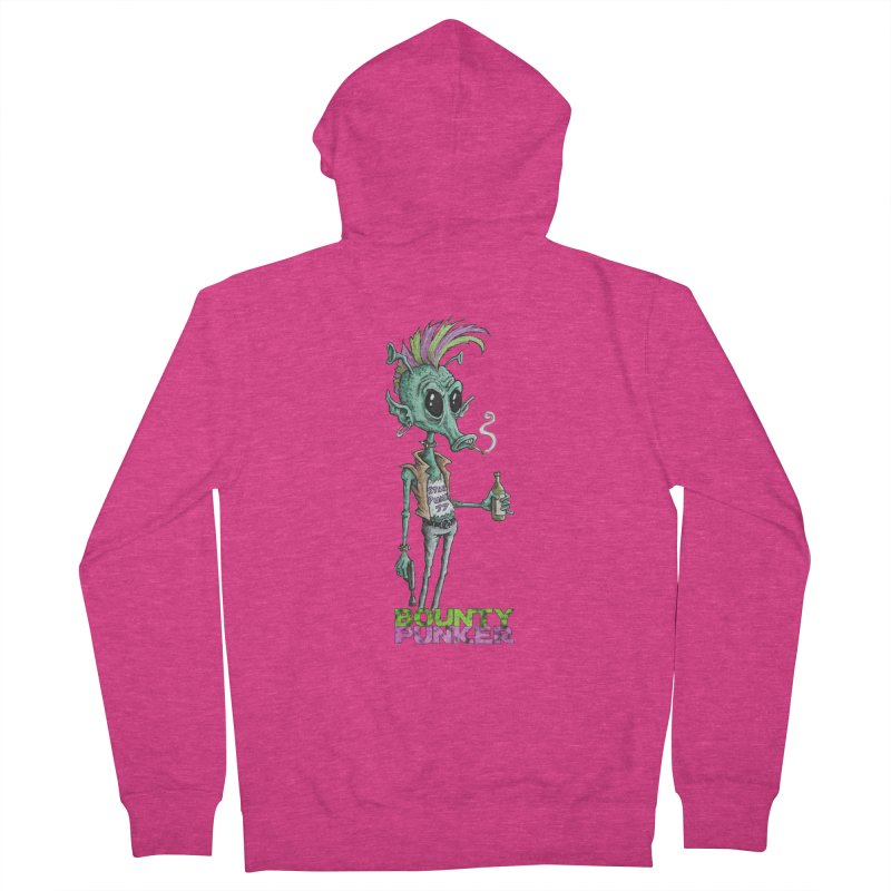 Bounty Punker Women's Zip-Up Hoody by Pickled Circus