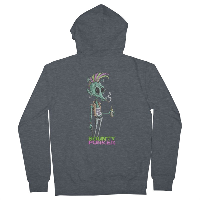 Bounty Punker Men's Zip-Up Hoody by Pickled Circus