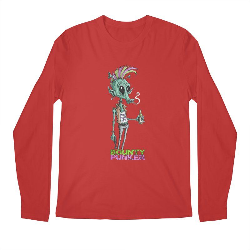 Bounty Punker Men's Longsleeve T-Shirt by Pickled Circus