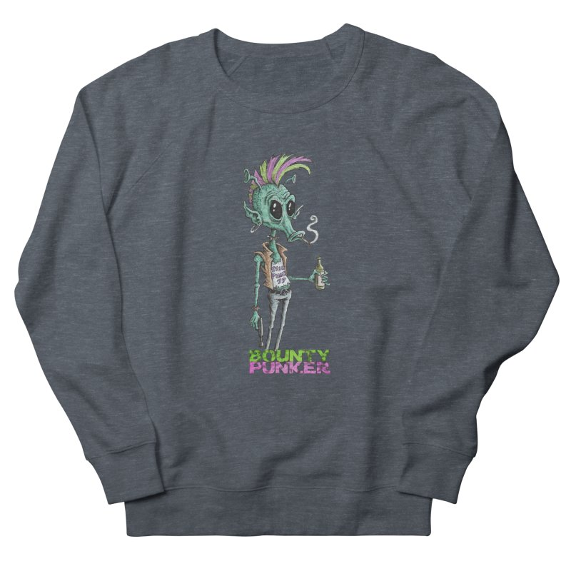 Bounty Punker Men's French Terry Sweatshirt by Pickled Circus