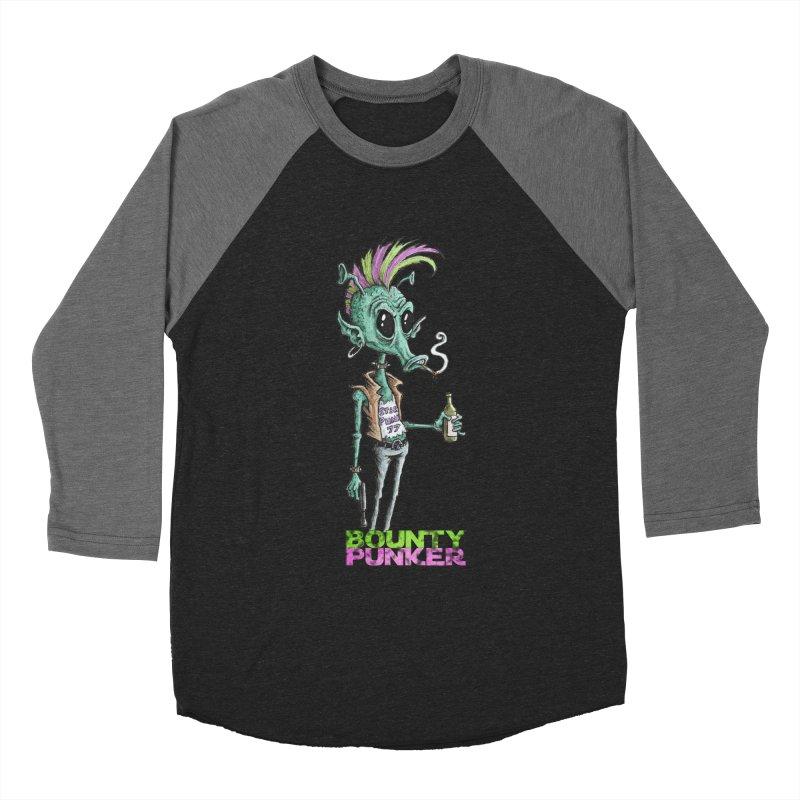 Bounty Punker Men's Baseball Triblend Longsleeve T-Shirt by Pickled Circus