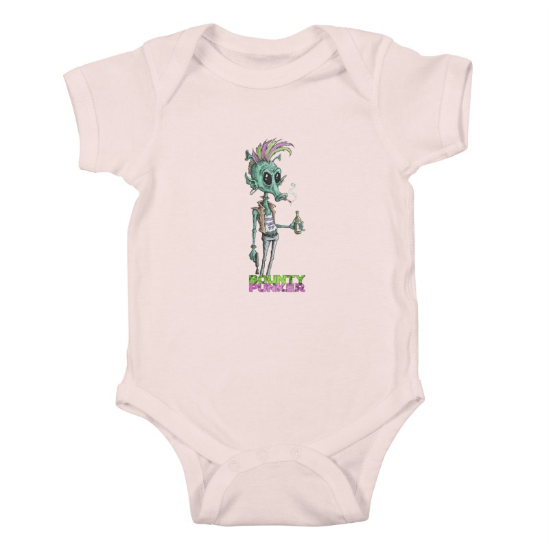 Bounty Punker Kids Baby Bodysuit by Pickled Circus