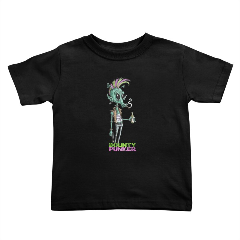 Bounty Punker Kids Toddler T-Shirt by Pickled Circus