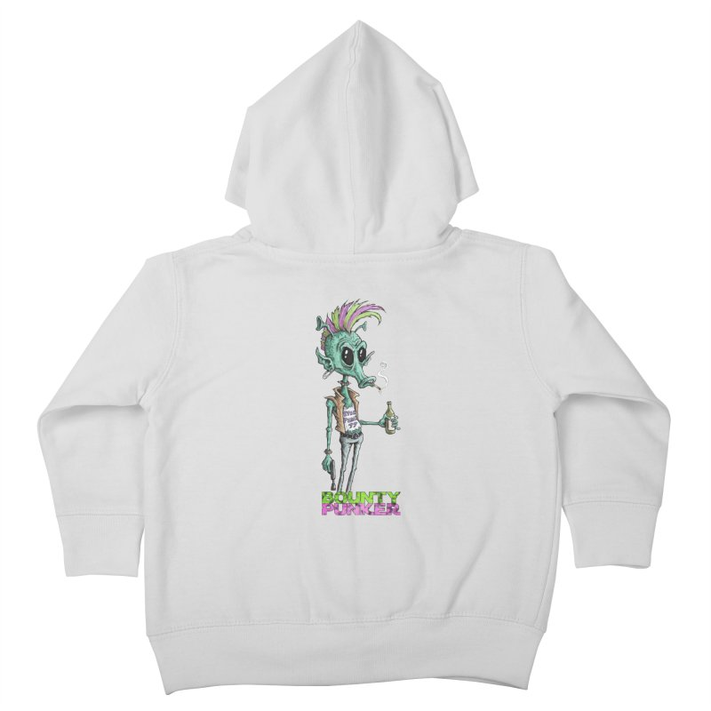Bounty Punker Kids Toddler Zip-Up Hoody by Pickled Circus