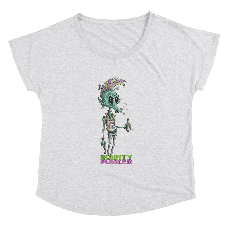 Bounty Punker Women's Dolman Scoop Neck by Pickled Circus