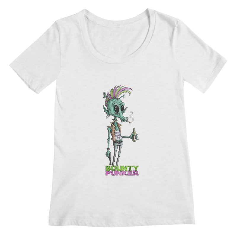 Bounty Punker Women's Scoopneck by Pickled Circus