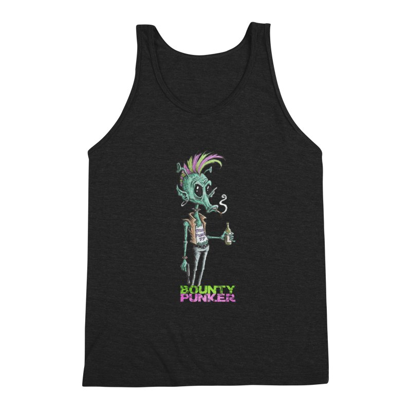 Bounty Punker Men's Triblend Tank by Pickled Circus