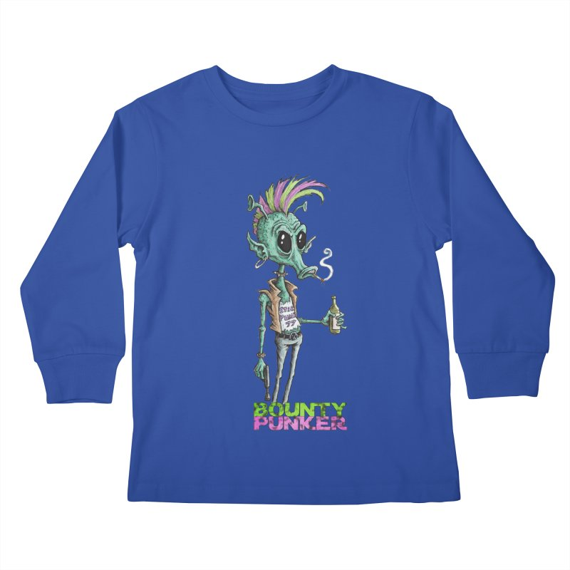 Bounty Punker Kids Longsleeve T-Shirt by Pickled Circus