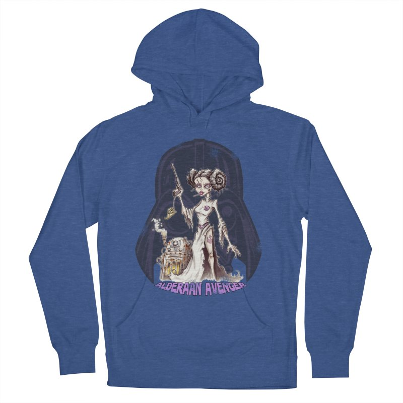 Alderaan Avenger Women's French Terry Pullover Hoody by Pickled Circus