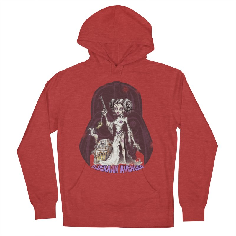 Alderaan Avenger Women's Pullover Hoody by Pickled Circus