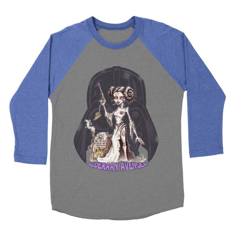 Alderaan Avenger Men's Baseball Triblend T-Shirt by Pickled Circus