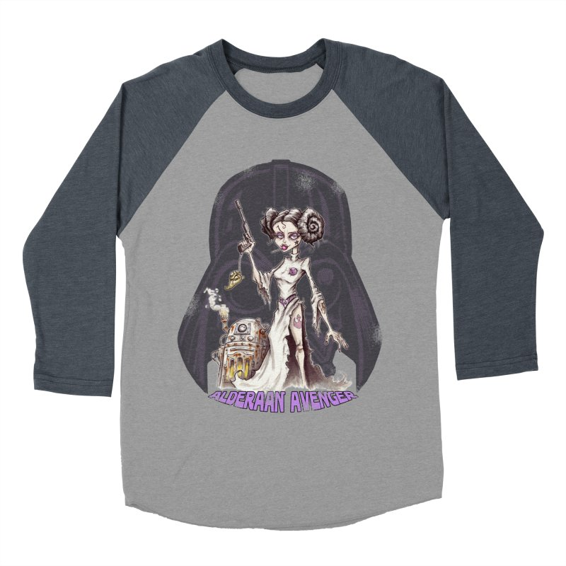 Alderaan Avenger Men's Baseball Triblend Longsleeve T-Shirt by Pickled Circus