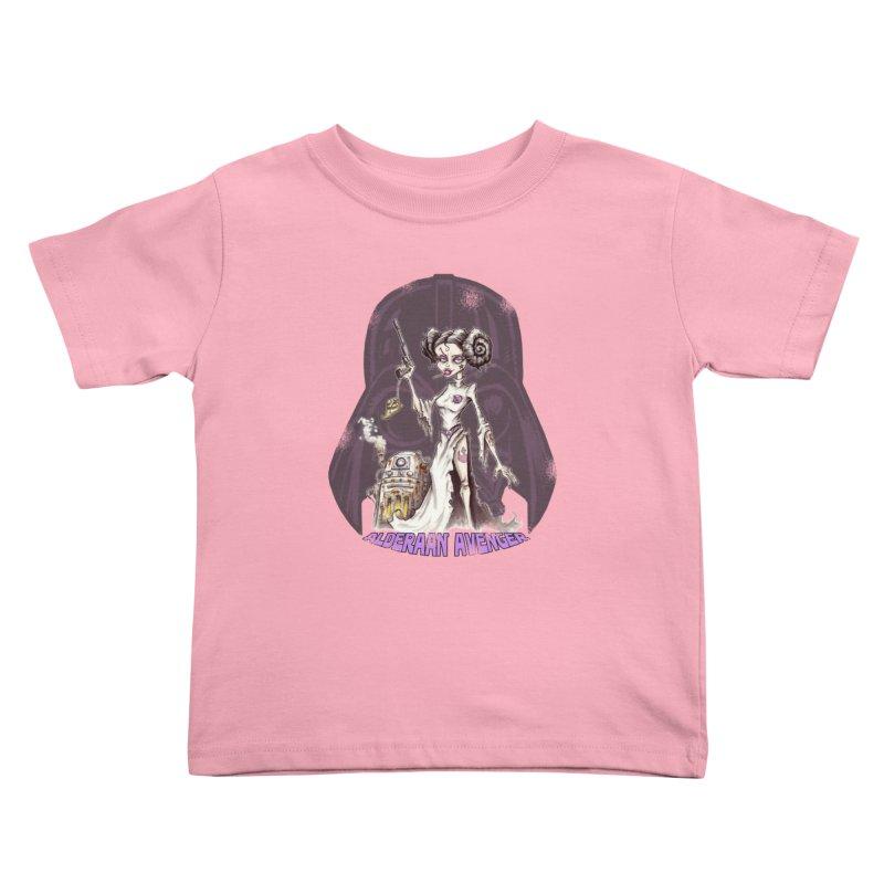 Alderaan Avenger Kids Toddler T-Shirt by Pickled Circus