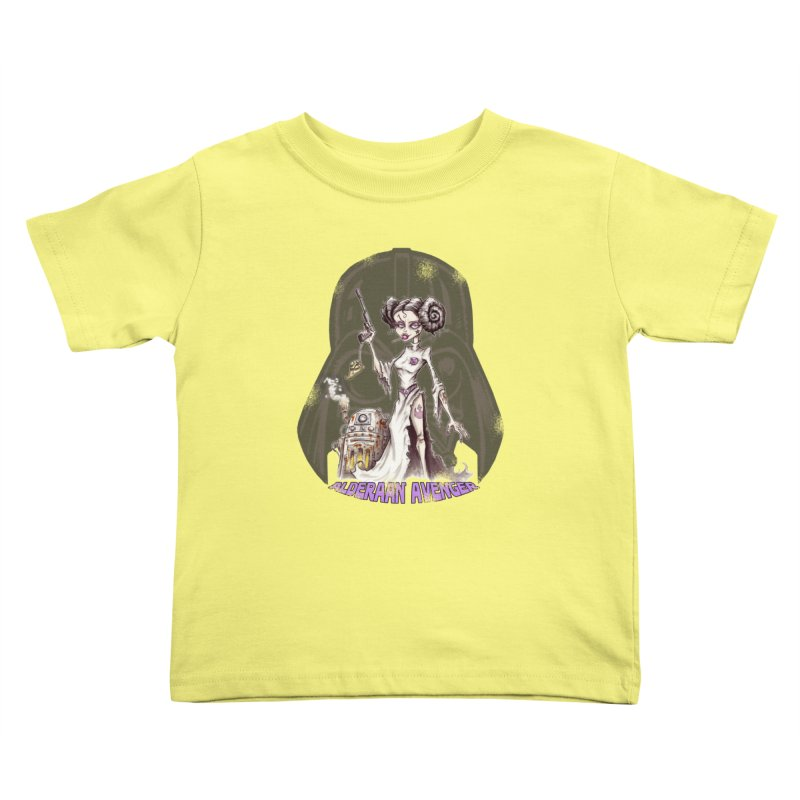 Alderaan Avenger Kids Toddler T-Shirt by Pickled Circus