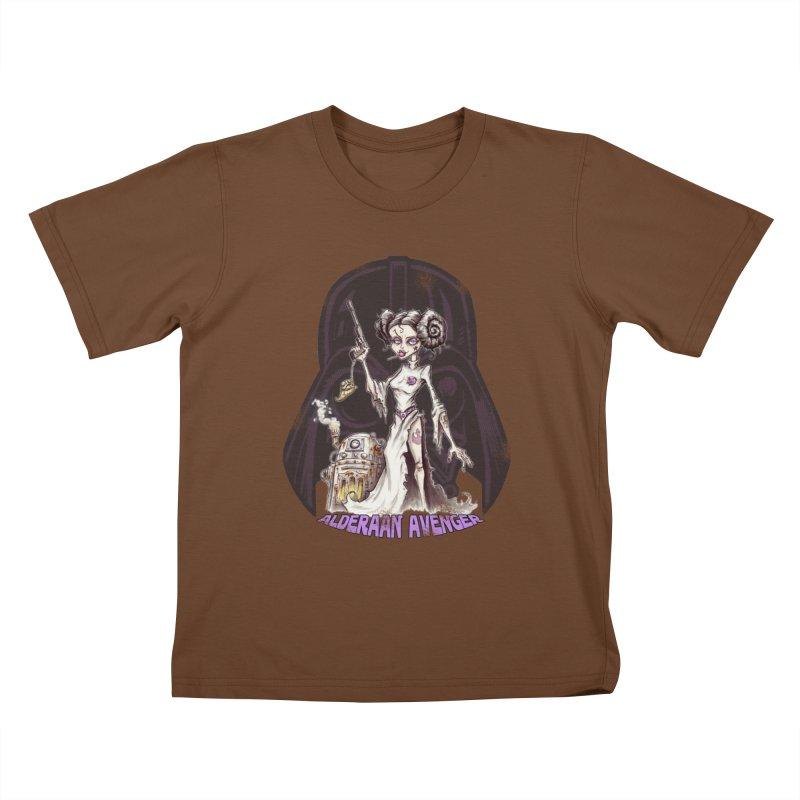 Alderaan Avenger Kids T-Shirt by Pickled Circus