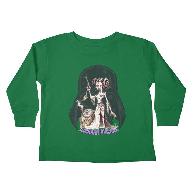 Alderaan Avenger Kids Toddler Longsleeve T-Shirt by Pickled Circus