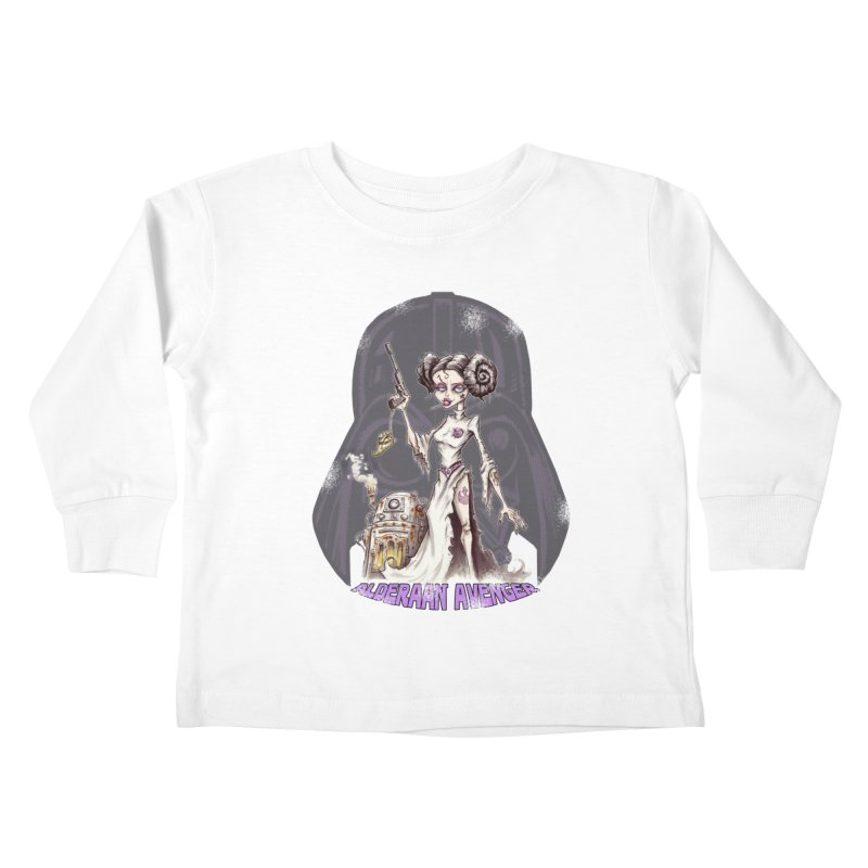 Alderaan Avenger Kids Toddler Longsleeve T-Shirt by Pickled Circus