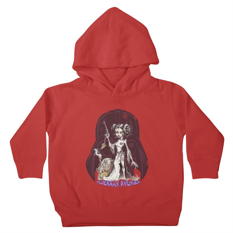 Alderaan Avenger Kids Toddler Pullover Hoody by Pickled Circus