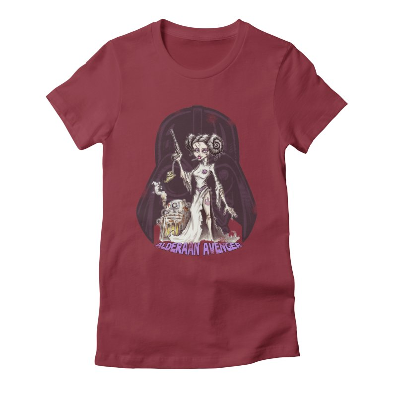 Alderaan Avenger Women's Fitted T-Shirt by Pickled Circus