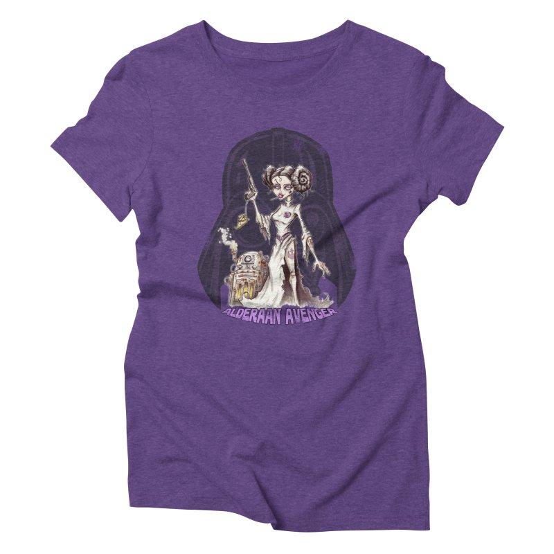 Alderaan Avenger Women's Triblend T-Shirt by Pickled Circus