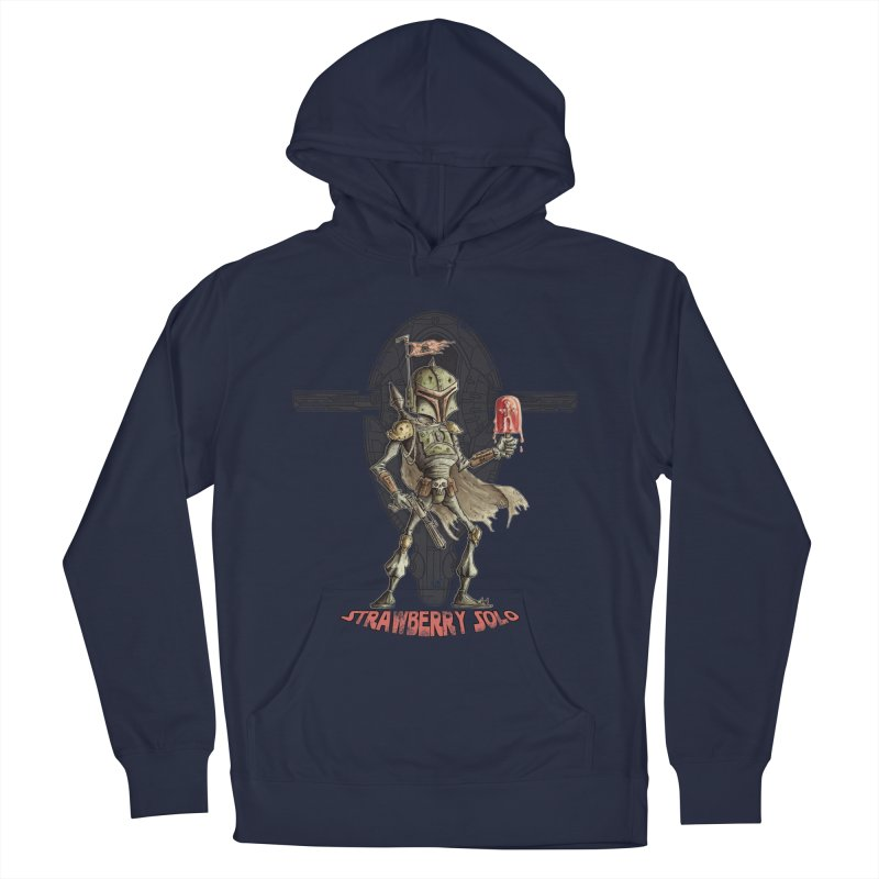 Strawberry Solo Men's Pullover Hoody by Pickled Circus