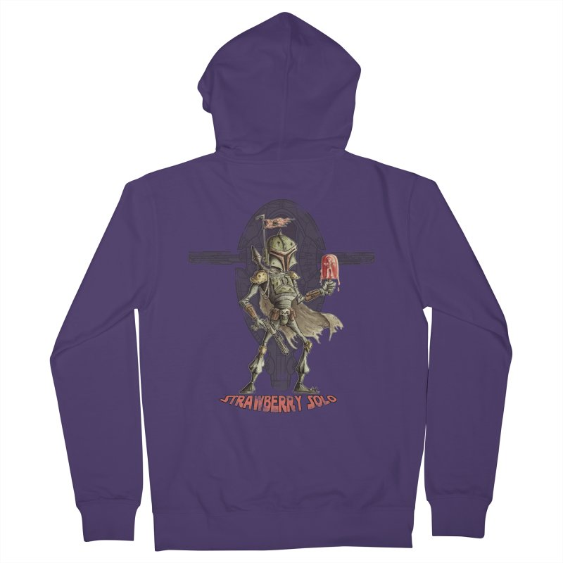 Strawberry Solo Women's Zip-Up Hoody by Pickled Circus
