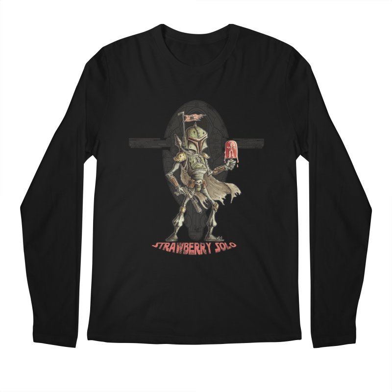 Strawberry Solo Men's Longsleeve T-Shirt by Pickled Circus