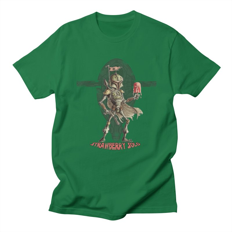 Strawberry Solo Men's T-shirt by Pickled Circus