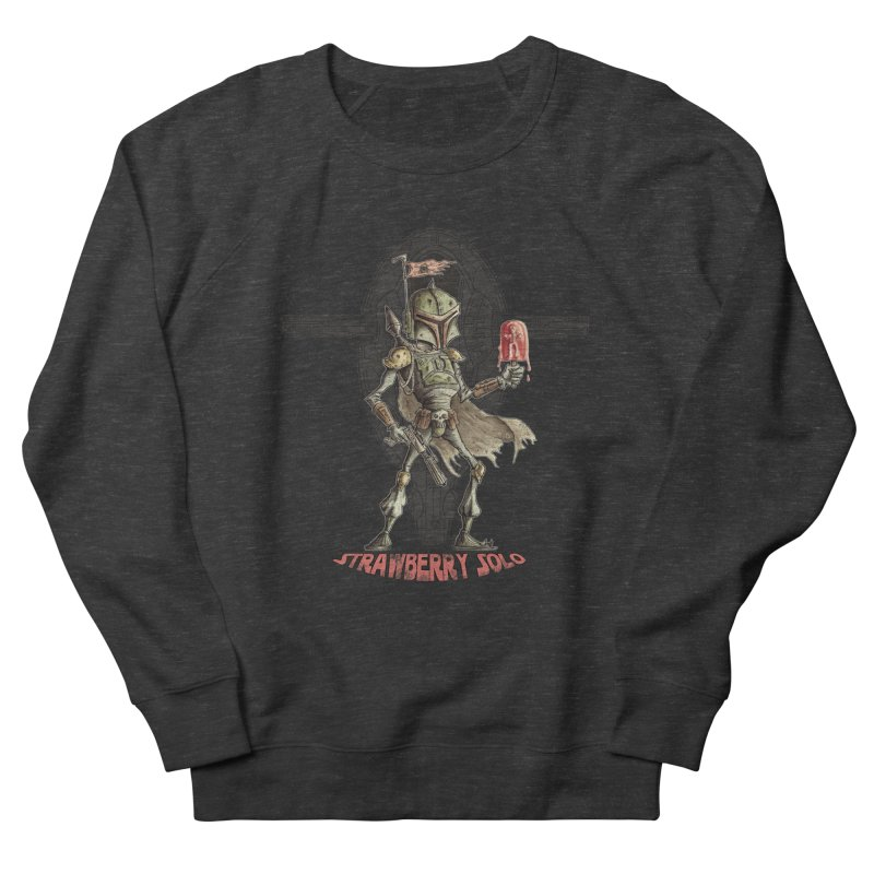 Strawberry Solo Men's Sweatshirt by Pickled Circus