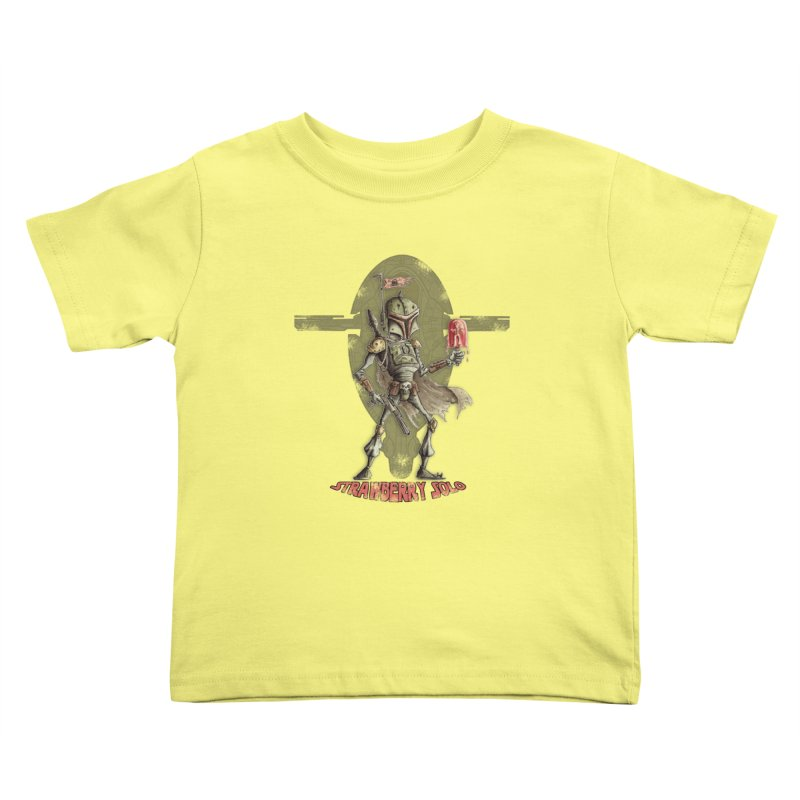 Strawberry Solo Kids Toddler T-Shirt by Pickled Circus