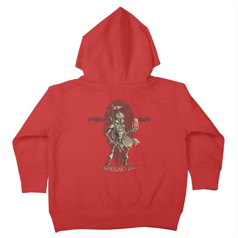 Strawberry Solo Kids Toddler Zip-Up Hoody by Pickled Circus