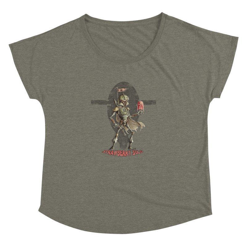 Strawberry Solo Women's Dolman by Pickled Circus