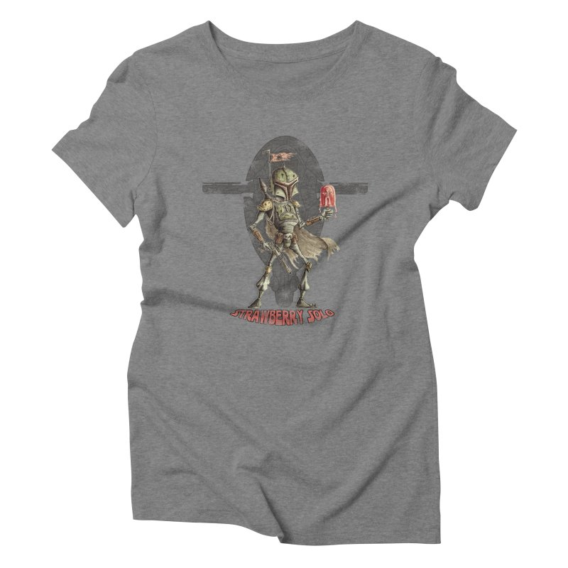 Strawberry Solo Women's Triblend T-Shirt by Pickled Circus